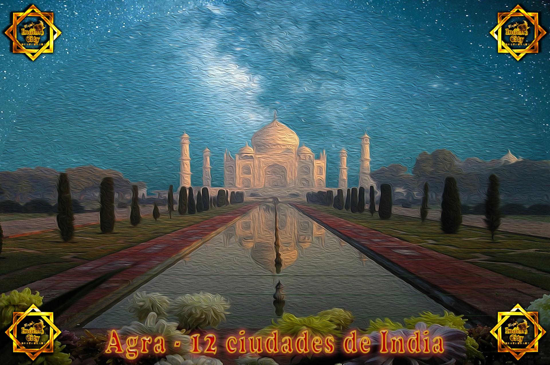 Agra – 12 Ciudades de India