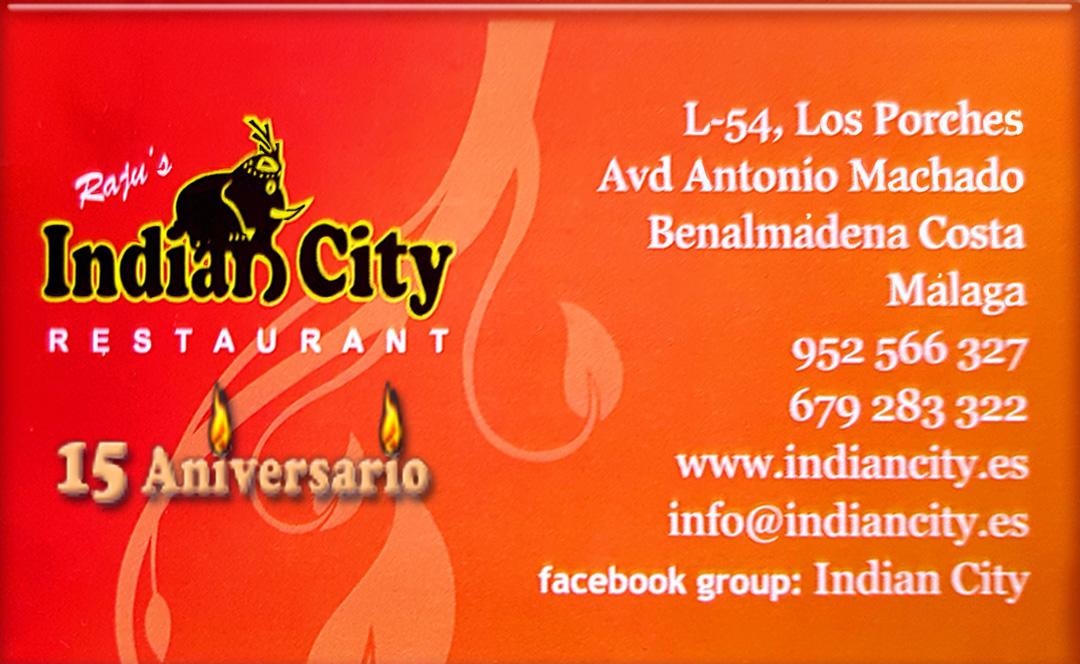 Raju´s IndianCity te regala la cena