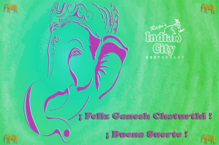 ¡Feliz Ganesh Chaturthi!