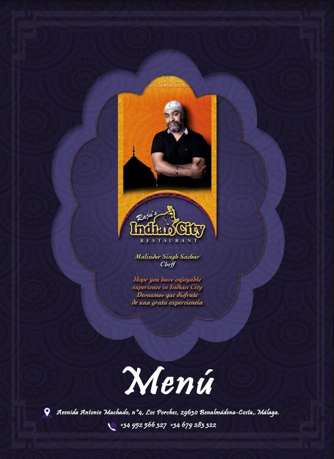 Raju´s IndianCity te regala una cena para 2 personas.