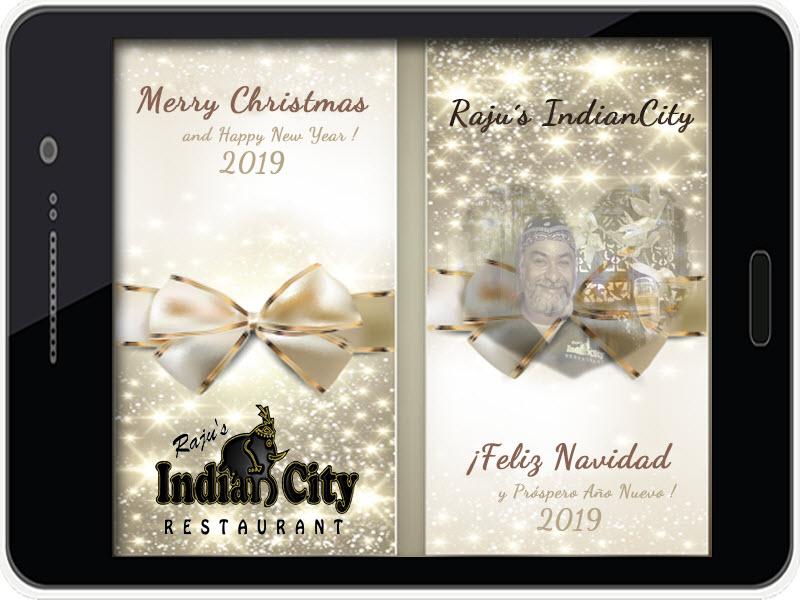 Feliz Navidad, próspero año y felicidad...