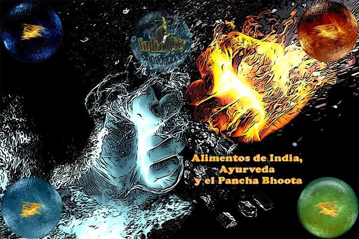 Alimentos de India, Ayurveda y el Pancha Bhoota