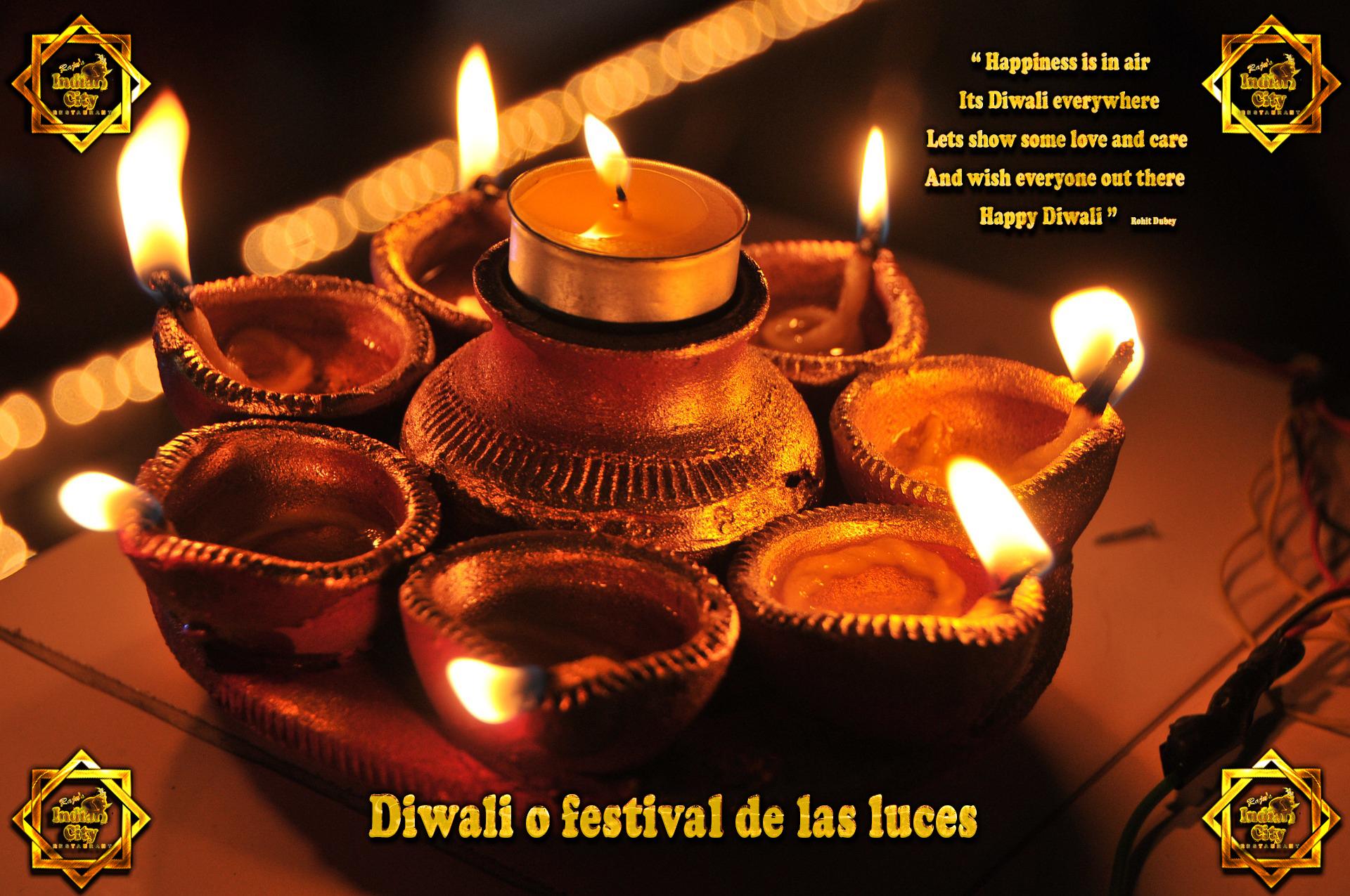 Diwali o festival de las luces