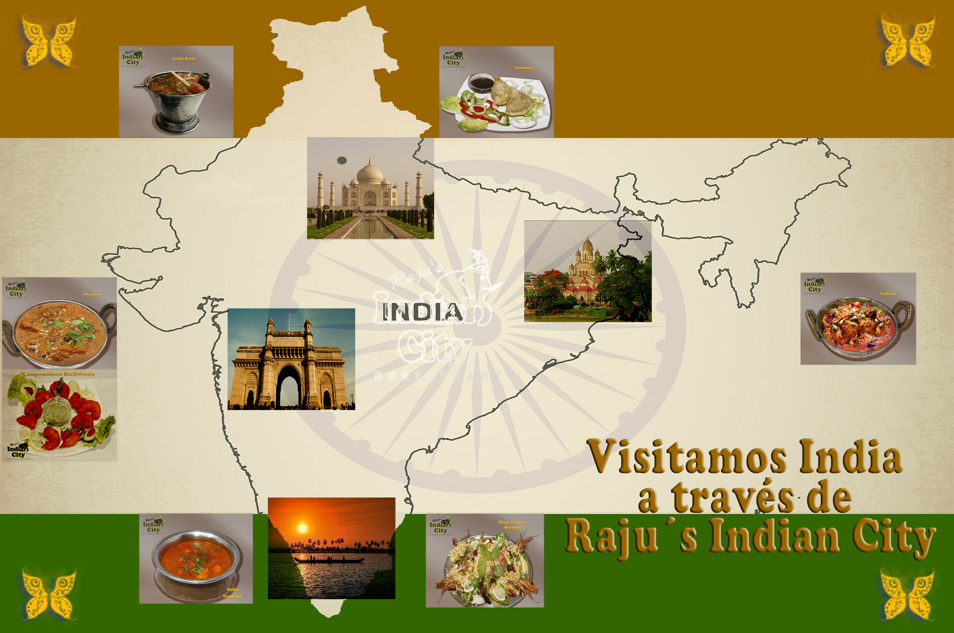 Visitamos India a través de Rajus Indian City