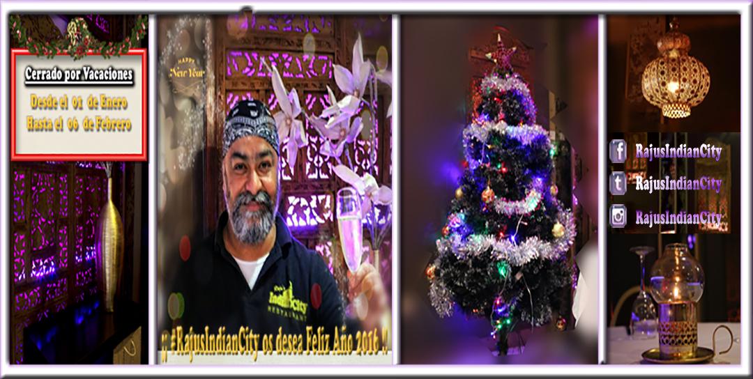 Gracias – Próspero y Feliz Año Nuevo 2016