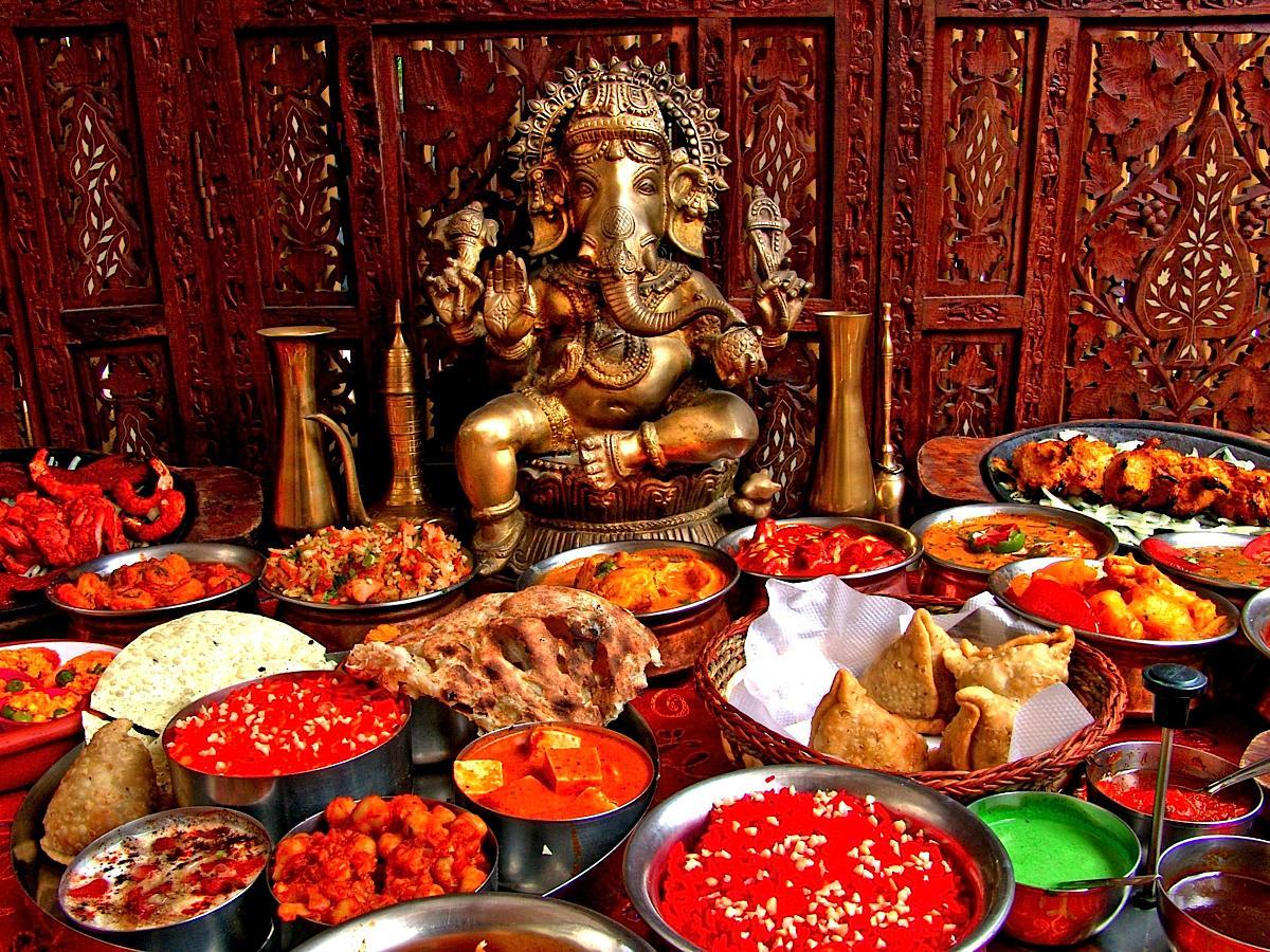Comida hind norte y sur dos cocinas bajo una bandera - Culture de la truffe ...