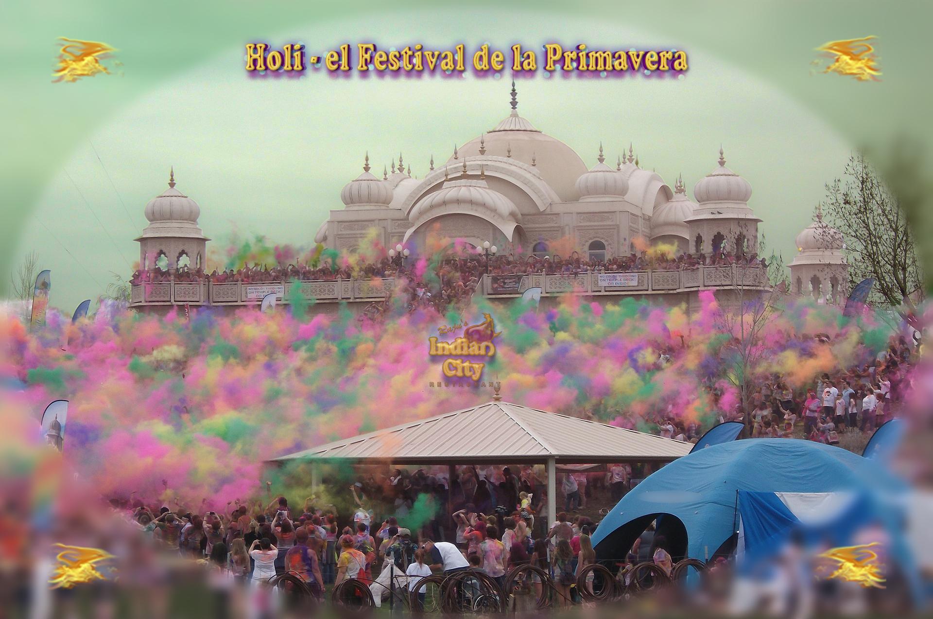 Holi, la fiesta de la Primavera
